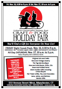 Holiday Fair 2012 Flyer