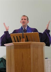 Pulpit Dedication - Rev. Pawelek