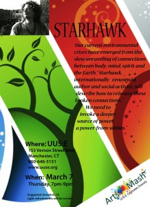 Starhawk, internationally renowned author and social activist