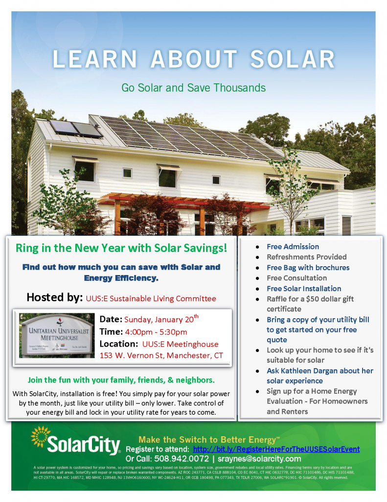 Solar Power and Save