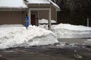 Unitarian Universalist Meetinghouse after Feb 2013 winter storm