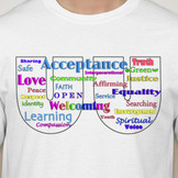 Unitarian Universalist Society: East Words T-Shirt