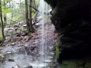 Waterfall at Monument Mountain in the Berkshire Hills